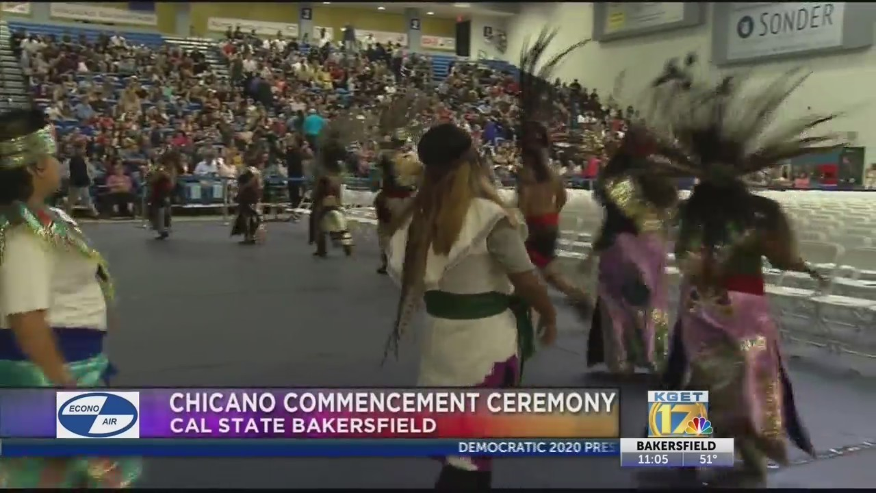 Students walk across the stage for 39th Annual Chicano Commencement