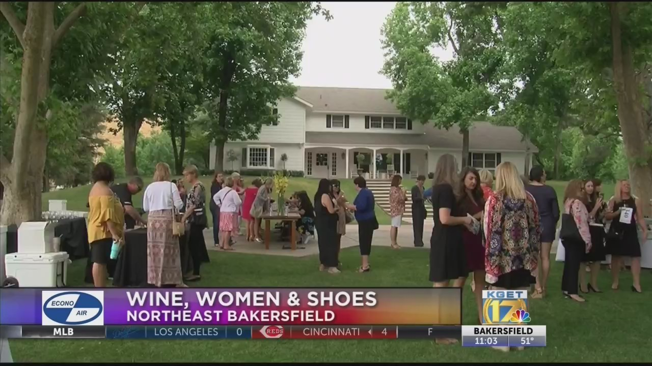 Wine, Women & Shoes benefited ADAKC of Kern County