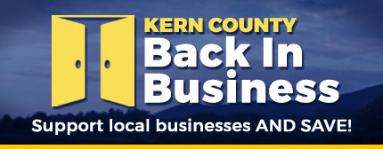 Kern County Back in Business - Support local businesses and SAVE!