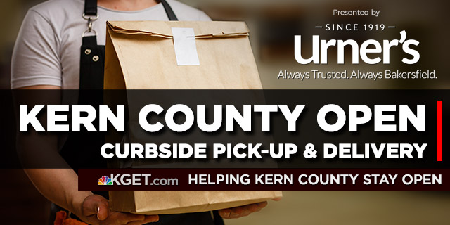 Kern County Open - restaurants with curbside and delivery