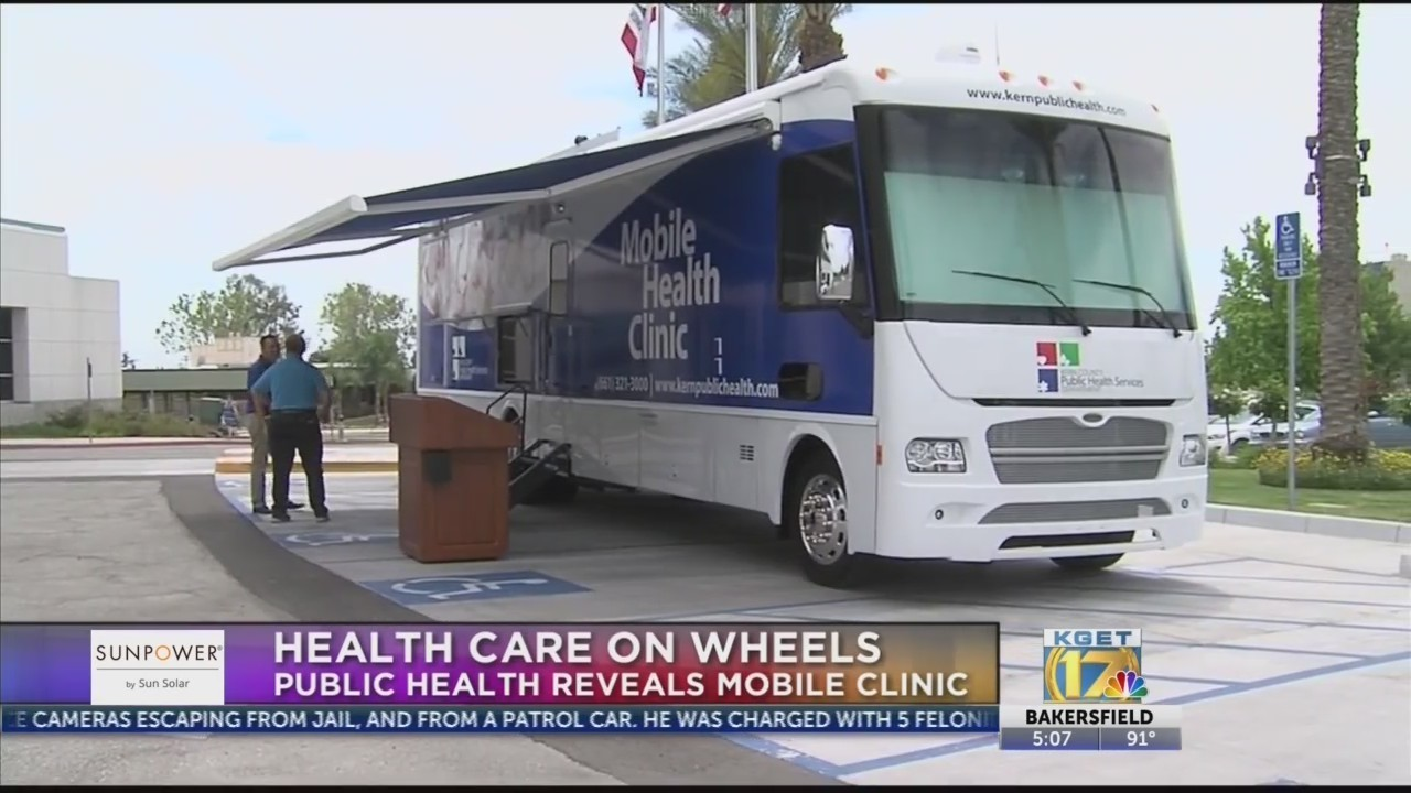 Kern County Public Health unveils mobile health clinics