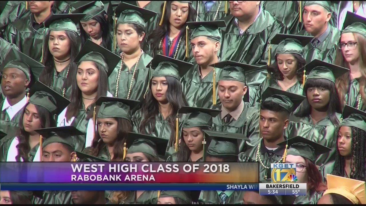 Wednesday Night Kern High School District Graduations