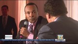 Boxing legend Sugar Ray Leonard appears at Boys and Girls Club fundraiser