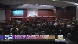 McCarthy hosted US Service Academy forum for students and families