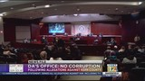 DA: Investigation finds no evidence to support corruption allegations made against county leaders